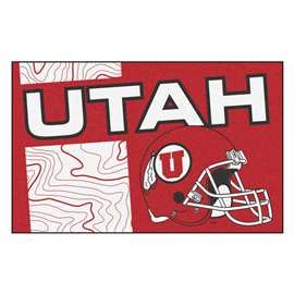 University of Utah Starter Mat Rectangular Mats