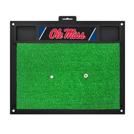 University of Mississippi (Ole Miss)  Golf Hitting Mat