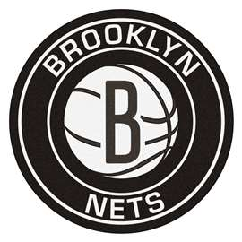NBA - Brooklyn Nets  Roundel Mat Mat, Rug , Carpet