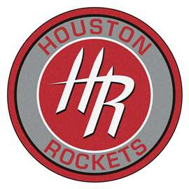 NBA - Houston Rockets  Roundel Mat Mat, Rug , Carpet