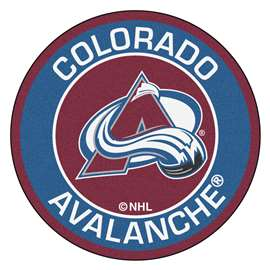 "NHL - Colorado Avalanche Mat, Rug , Carpet 27"" diameter"