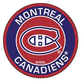 NHL - Montreal Canadiens Roundel Mat Round Mats
