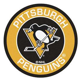 NHL - Pittsburgh Penguins Roundel Mat Round Mats