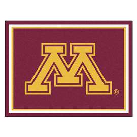University of Minnesota 8x10 Rug Plush Rugs