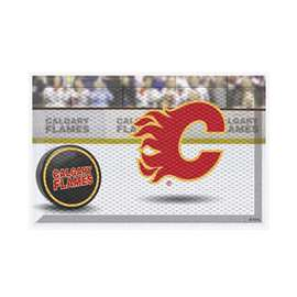 "NHL - Calgary Flames Mat, Rug , Carpet 19""x30"""