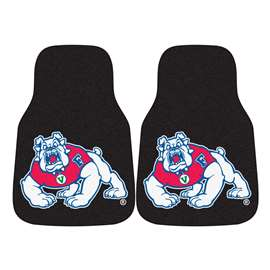 Fresno State 2-pc Carpet Car Mat Set Front Car Mats