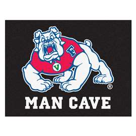 Fresno State Man Cave All-Star Rectangular Mats