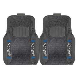 MLB - Kansas City Royals 2-pc Deluxe Car Mat Set Front Car Mats