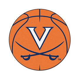University of Virginia Basketball Mat Ball Mats