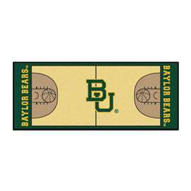 Baylor University NCAA Basketball Runner BU Logo
