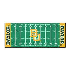 Baylor University  Football Field Runner Mat Rug Carpet
