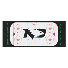 University of North Dakota  Rink Runner Mat, Rug , Carpet