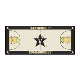 Vanderbilt University  NCAA Basketball Runner Mat, Carpet, Rug