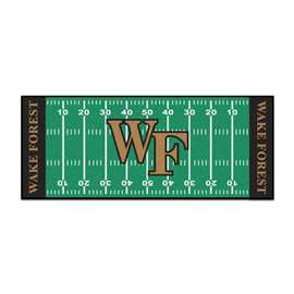 Wake Forest University  Football Field Runner Mat Rug Carpet