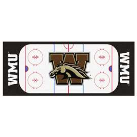 Western Michigan University  Rink Runner Mat, Rug , Carpet