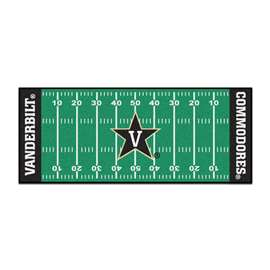 Vanderbilt University  Football Field Runner Mat Rug Carpet