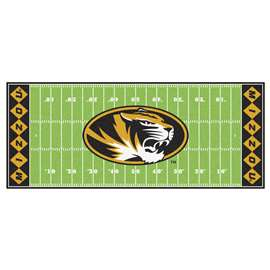 University of Missouri  Football Field Runner Mat Rug Carpet