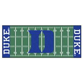 Duke University Football Field Runner Runner Mats