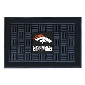 NFL - Denver Broncos Super Bowl 50 Champions  Medallion Door Mat