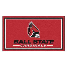 Ball State University 3x5 Rug Plush Rugs