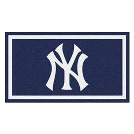MLB - New York Yankees 3x5 Rug Plush Rugs