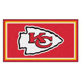 NFL - Kansas City Chiefs 3x5 Rug Plush Rugs