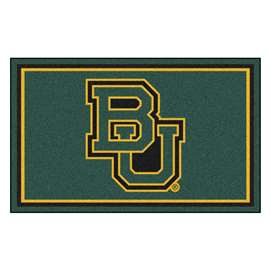 Baylor University 4x6 Rug Plush Rugs