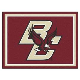 Boston College 8x10 Rug Plush Rugs
