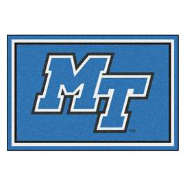 Middle Tennessee State University 5x8 Rug Plush Rugs
