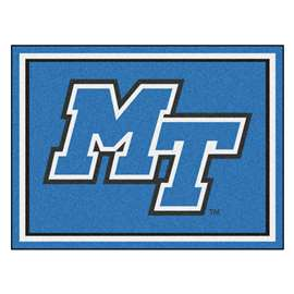 Middle Tennessee State University 8x10 Rug Plush Rugs