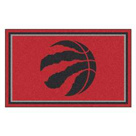 NBA - Toronto Raptors 4x6 Rug Plush Rugs