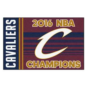 "Cleveland Cavaliers 2016 NBA Finals Champions Starter Rug 19""x30"""