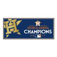 Houston Astros 2017 World Series Champions Baseball Runner