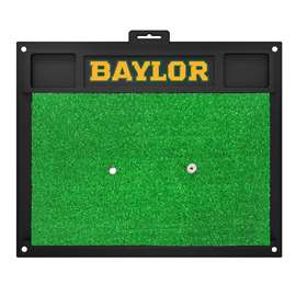 Baylor University Golf Hitting Mat BU Logo