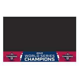 Washington Nationals  2019 World Series Champions Grill Mat Tailgate Accessory