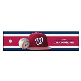 Washington Nationals  2019 World Series Champions Putting Green Mat Golf Accessory