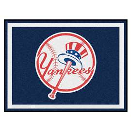 MLB - New York Yankees 8x10 Rug Plush Rugs