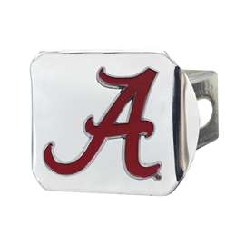 University of Alabama Color Hitch - Chrome Hitch Covers
