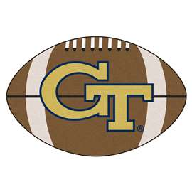 Georgia Tech  Football Mat Mat Rug Carpet