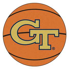 Georgia Tech  Basketball Mat Rug Carpet Mats