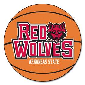 Arkansas State University Basketball Mat Ball Mats
