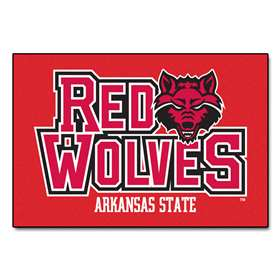 Arkansas State University Starter Mat Rectangular Mats