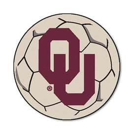 University of Oklahoma  Soccer Ball Mat, Rug , Carpet