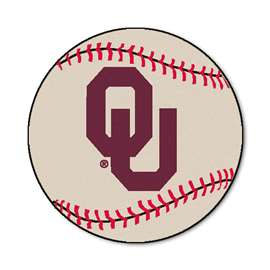 University of Oklahoma  Baseball Mat Rug Carpet Mats