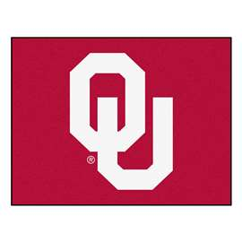 University of Oklahoma  All Star Mat Rug Carpet Mats