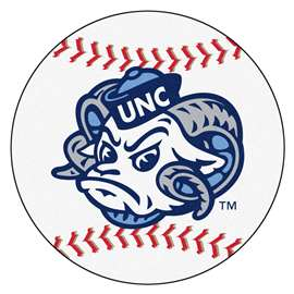 University of North Carolina - Chapel Hill Baseball Mat Ball Mats