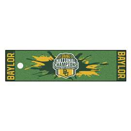 Baylor University Bears 2021 NCAA Basketball National Champions Putting Green Mat
