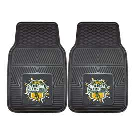 Baylor University Bears 2021 NCAA Basketball National Champions 2-pc Vinyl Car Mat Set