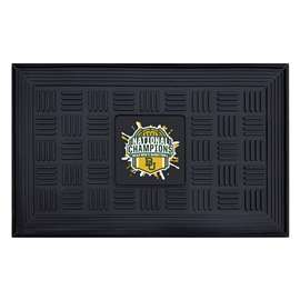 Baylor University Bears 2021 NCAA Basketball National Champions Medallion Door Mat