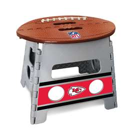 "NFL - Kansas City Chiefs Folding Step Stool  14""x13"""